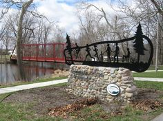 Bike Path:  Wind your way along trails and among ornaments in Warsaw, Indiana | MLive.com