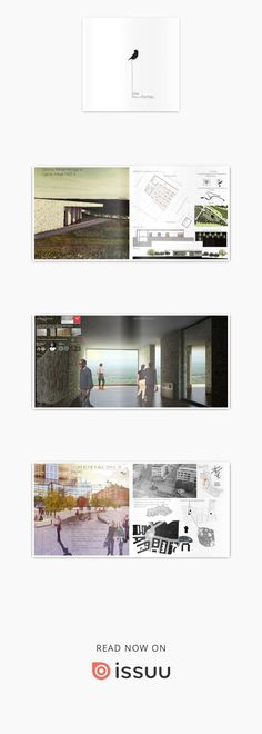 Urban design and Architecture Portfolio  Urban design, urban planning, architecture projects during bachelor and master