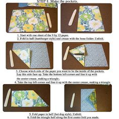 Flag book instructions