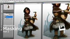 Alternative Masking pt. 2 - Edge control is crucial to solid digital painting. Traditionally, this means having a very steady hand and careful mark-making. When working digitally, the rules are a bit different. This video introduces a few more unconventional masking techniques. They may seem pretty foreign at first, but can yield a huge effect in your painting process. ★ || CHARACTER DESIGN REFERENCES • Find us on www.facebook.com/CharacterDesignReferences || ★