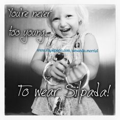 Even Layken is going to be a lifetime Silpada girl!!  #Silpada #Sterling Silver