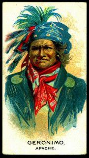 Cigarette Card - Indian Chief, Geronimo | by cigcardpix
