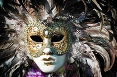 Venetian Masquerade Masks | Showcase of Carnival in Venice, with one of Antonio Vivaldi's 4 ...