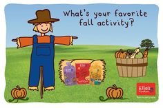 Crunching leaves, searching for pinecones, tasting fall fruits + veg, the list of fun fall activities is endless! Share your favorite!