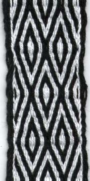 Tablet Weaving: Double Diamonds