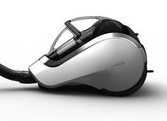 LG Vacuum cleaner on Behance