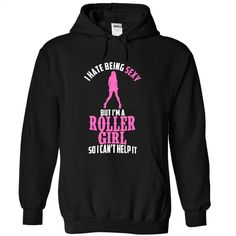 Sexy Roller Girl T Shirts, Hoodies, Sweatshirts - #dress shirt #pullover hoodie. ORDER NOW => https://www.sunfrog.com/LifeStyle/Sexy-Roller-Girl-7291-Black-7105858-Hoodie.html?id=60505