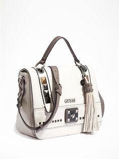 72afb2c5f74f GUESS Women s Camryn Top Handle Flap Handbag