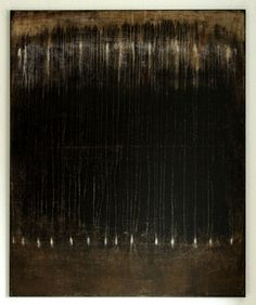 "Saatchi Art Artist CHRISTIAN HETZEL; Painting, ""black brown painting"" #art"