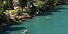 Schwimmen in der Aare - Bern Tourism The Last Exit, Best Wallpaper Sites, Rio, Switzerland Bern, Float Your Boat, European Travel, Great Places, Continents, Europe