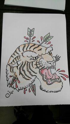 #art #tiger