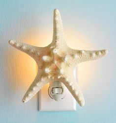 Anyone who has a nautical bathroom theme like me, appreciates this DIY idea!