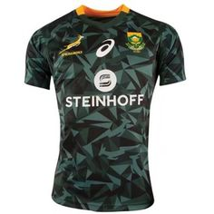 Springbok South Africa rugby jersey Steinhoff Men Sport Training Jersey T-Shirt Shopee Guarantee Rugby Training, Sports Training, South Africa Rugby Jersey, Shopee Malaysia, Rugby Men, Africa Fashion, Football, Sportswear, T Shirts