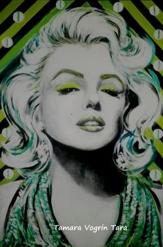 Marilyn art Marilyn Monroe Drawing, Marilyn Monroe Photos, Marylin Monroe, Pin Up, Artsy Photos, Acrylic Artwork, Rare Pictures, Norma Jeane, Stencil Art