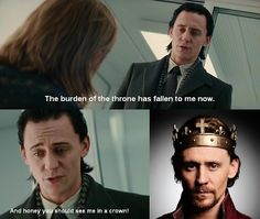 bahhahah YES MY 2 favorite fandoms just rolled into one!!!! LOKI for the win haha