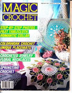 Magic crochet № 64 - 1990..FREE MAGAZINE!!