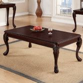 "Coffee Table - Overall: 19"" H x 52"" W x 30"" D - from Wayfair"