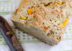 Rustic Peach Bread – Vegan and Gluten Free