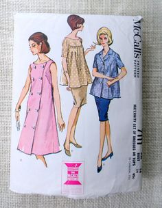 Hey, I found this really awesome Etsy listing at https://www.etsy.com/listing/241905080/vintage-mccalls-7111-pattern-1960s-dress