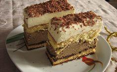 Ciasta  2 Polish Desserts, Polish Recipes, Diabetic Recipes, Cooking Recipes, Almond Cakes, Food Cakes, Dessert Bars, No Bake Cake, Baked Goods