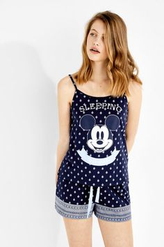 Sleeping all day' Mickey Mouse short pyjamas Cute Lounge Outfits, Lazy Day Outfits, Cute Comfy Outfits, Night Outfits, Girl Outfits, Minnie Mouse Skirt, Mickey Mouse, Cute Sleepwear, Loungewear