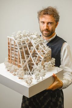 Final Year Architecture Student Explains Incredible Model – How to Make Architecture Models Plan Concept Architecture, Architecture Model Making, Architecture Panel, Architecture Student, Architecture Portfolio, Futuristic Architecture, Amazing Architecture, Architecture Design, Japan Architecture