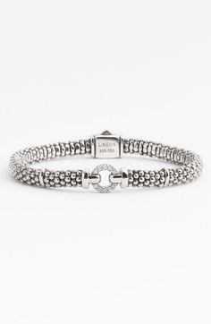 Lagos - Caviar Diamond O Bracelet