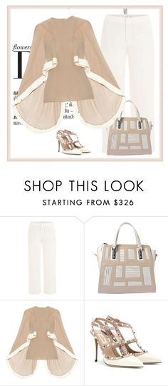 """""""blush"""" by bodangela ❤ liked on Polyvore featuring Vince, Esteban Cortazar and Valentino"""
