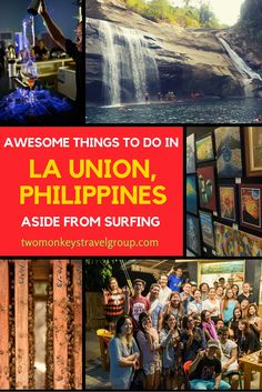 Awesome Things To Do in La Union, Philippines Aside from Surfing 57 Surfing Tips, Surfing Photos, La Union Philippines, Stuff To Do, Things To Do, Tourist Spots, Hostel, Awesome Things, Egypt