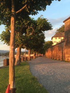 behind the castle of Rapperswil