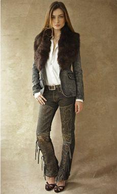 Women's Black Label Denim - Ralph Lauren Style Guide