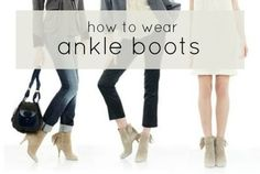 how to wear ANKLE BOOTS from A Beautiful Little Life