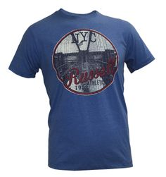 Vintage Tees: Washed C-Neck Summer Tee with Photo Graphic – Blue Look 2015, Vintage Tees, Summer, Mens Tops, T Shirt, Blue, Fashion, Moda, Summer Time