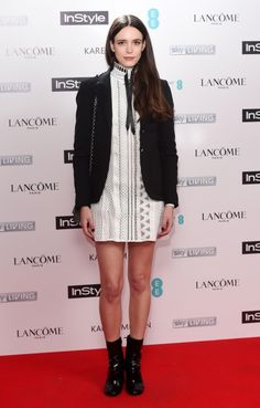 Stacy Martin At The InStyle BAFTA EE Rising Star Party 2015 In Louis Vuitton SS15