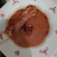 Babfőzelék sült, füstölt tarjával Tarot, Beef, Food, Meals, Yemek, Steak, Eten