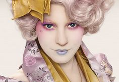 Effie Trinket- The Hunger Games  This is really out there, but I think it's so cool. Hmmm...maybe THIS is who I could be next Halloween.