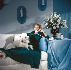 Patricia Neal in Breakfast At Tiffany's  A vision in Blues.
