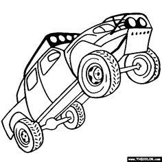 baja 1000 racing truck online coloring page truck onlineoff road
