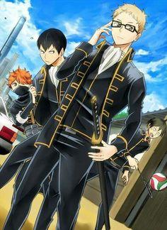 Haikyuu and Gintama Crossover!
