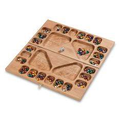 A four player adaptation of classic mancala via MindWare.com