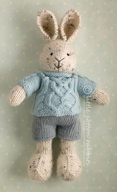 Hobson, so cute and you can buy the patterns to make them yourself, I have to give it a go