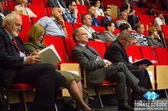 Zdjęcia reklamowe na konferencji w Kampusie Wielickim