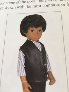 London boy shirt and vinyl waiscoat from 1970 for Gregor Sasha. Doll. Boys Shirts, That Look, Sasha Doll, Dolls, The Originals, London, Outfits, Baby Dolls, Suits
