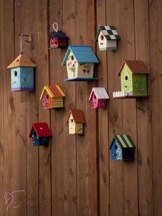 Birdhouses photography