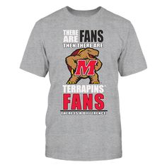 University of Maryland Terrapins Fan Shirt T-Shirt, Wear an officially licensed University Maryland Terrapins shirt to a Terps football, basketball, or baseball game. Support the Marland Terps on game day with Univ Maryland fan gear. These shirts are not found in stores and are guaranteed to make you stand out in the football stadium. Your friends... The Maryland Terrapins Collection, OFFICIAL MERCHANDISE  Available Products:          Gildan Unisex T-Shirt - $25.95 District Women's Premium…