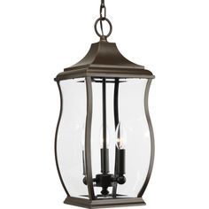 Township Collection 3-light Oil Rubbed Bronze Hanging Lantern