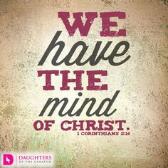Daily Devotional -What's on your Mind: http://daughtersofthecreator.com/whats-on-your-mind/