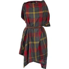 Vivienne Westwood Anglomania Tartan rectangle dress | for the annual Highland Games!