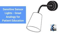 Sensitive Sensor Lights  A Great Analogy for Patient Education