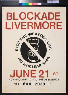 Blockade Livermore, June 21st (1982)